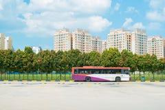 Bus pubblico dell'abbonato Immagine Stock