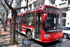 Bus pubblico di Buenos Aires Fotografia Stock Libera da Diritti