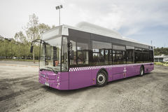 Bus for public transportation in Istanbul, Turkey. Royalty Free Stock Photography