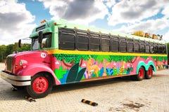Bus. A bus ready to go on excursion stock photo