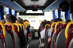 On a bus Royalty Free Stock Photography