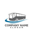 Bus rent solution Logo Template vector icon design Royalty Free Stock Image