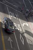 Bus Only Road Markings Stock Photography