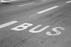 Bus road Stock Photos