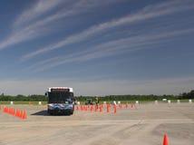 Bus Roadeo op een Mooie Meidag Stock Fotografie