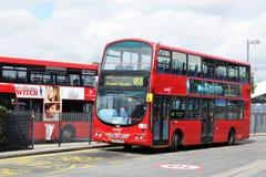 Bus rosso Immagini Stock Libere da Diritti