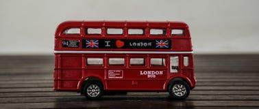 Bus rosso di Londra Fotografia Stock Libera da Diritti