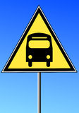 Bus route sign Royalty Free Stock Photography