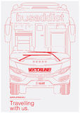 Bus-Süchtiger Lizenzfreie Stockfotografie