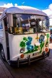 Bus in Sancti Spiritus, Cuba Royalty Free Stock Images