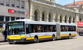 Bus in Schaffhausen, Switzerland Royalty Free Stock Photo