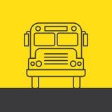 bus school Στοκ Φωτογραφίες