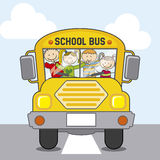 Bus school Royalty Free Stock Photo