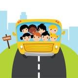 Bus school Stock Photo