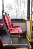 Bus seats Stock Image