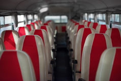 Bus with seats. Stock Images