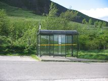 Free Bus Shelter Royalty Free Stock Photography - 138507