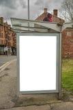Bus Shelter Glasgow Royalty Free Stock Photos