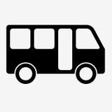 Bus sign icon. Public transport symbol. Stock Images