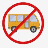 Bus sign icon. Public transport symbol. Stock Photo