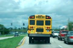 bus skolan Royaltyfri Bild