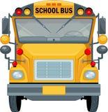 bus skolan royaltyfri illustrationer