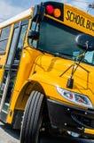 bus skolan Royaltyfria Foton