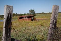 Bus slechts Parkeren Stock Fotografie
