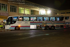 Bus of Sombattour company. Stock Photos