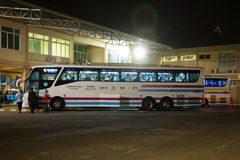 Bus of Sombattour company. Royalty Free Stock Photography