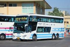 Bus of Sombattour company. Stock Image