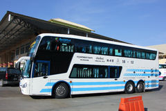 Bus of Sombattour company. Stock Images