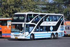 Bus of Sombattour company. Royalty Free Stock Image