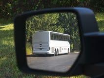 Bus in specchio Immagine Stock Libera da Diritti