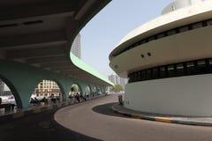Bus station in Abu Dhabi Stock Photos