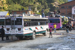 Bus station in Beni Royalty Free Stock Photos