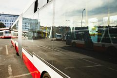 Bus station Royalty Free Stock Images