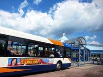 ิbus station in edinburgh,scotland Royalty Free Stock Images