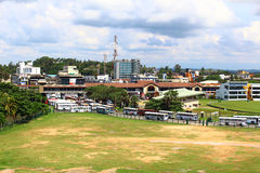 The bus station in Galle Royalty Free Stock Images
