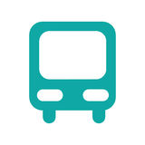 bus station isolated icon Stock Photo