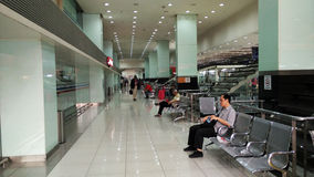 Bus Station in Kuala Lumpur Royalty Free Stock Photo