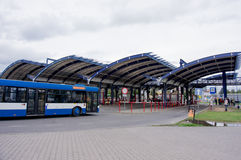 Bus station Stock Photography