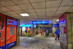 Bus station in Vilnius, Stock Photos