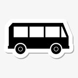 Bus Sticker Royalty Free Stock Photography