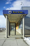 Bus stop royalty free stock image