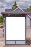 Bus stop billesholm Royalty Free Stock Photography