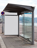 Bus Stop Royalty Free Stock Photos