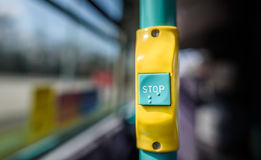 Bus Stop Button Royalty Free Stock Image