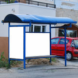 Bus stop crete Stock Photography