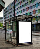 Bus stop HDR 10 Royalty Free Stock Photos